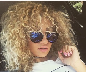 curly, mixed, and fashion image