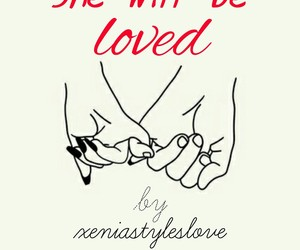 book, she will be loved, and sick love image