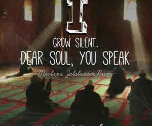 Rumi, soul, and speak image