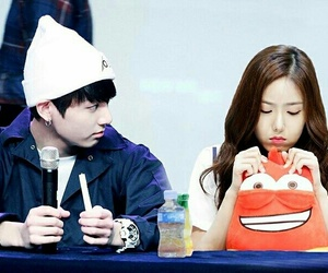 sinb, jungkook, and sinkook image