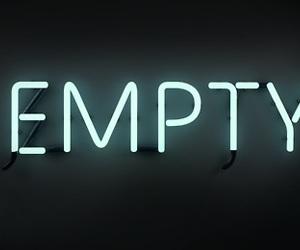empty, neon, and black image