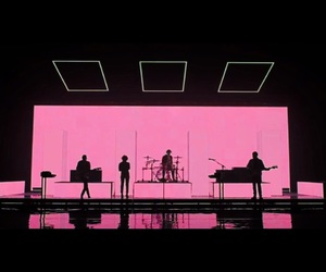 the 1975, music, and pink image