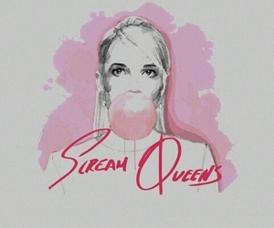 wallpaper and scream queens image