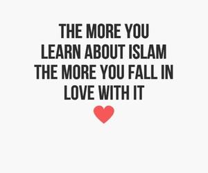 islam, allah, and love image