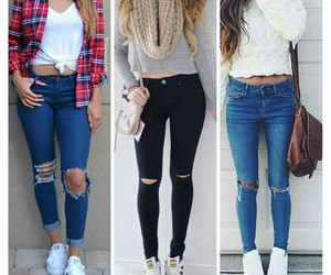 outfit, girls, and style image