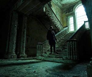 abandoned, exploring, and house image