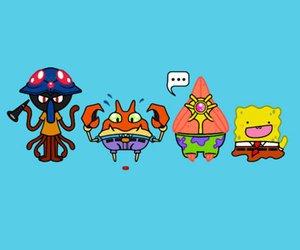 pokemon and spongebob image