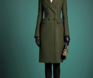 beauty, coat, and green image