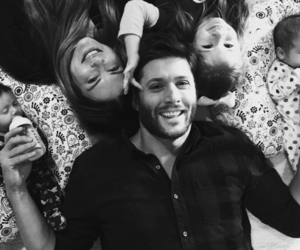 Jensen Ackles, supernatural, and family image