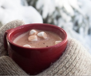 drink, winter, and sweet image
