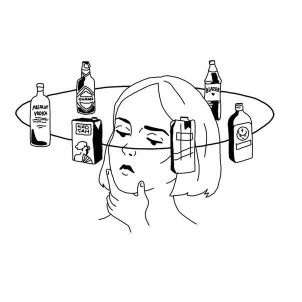 alcohol and white image