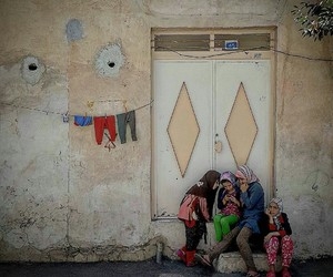 iran, village, and iranian girls image