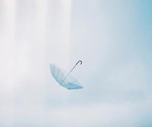 blue and umbrella image