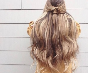 blonde and blonde hair image