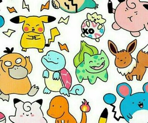pokemon, wallpaper, and pikachu image