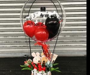 anniversary, balls, and gift image