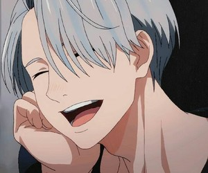 anime, victor, and yurionice image