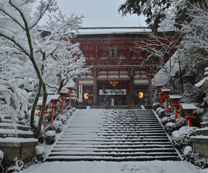 japan, place, and winter image