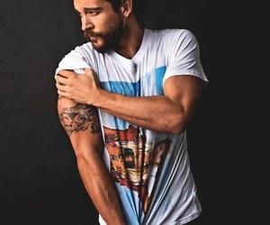 tattoo, sexy, and beard image