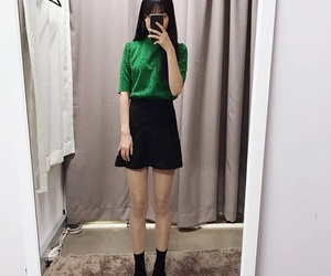 asian, casual, and clothes image