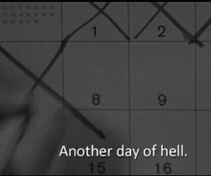 hell, day, and life image