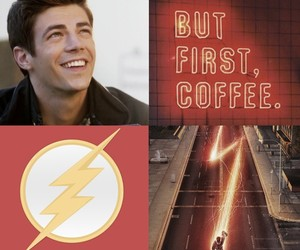 flash, red, and dc comics image