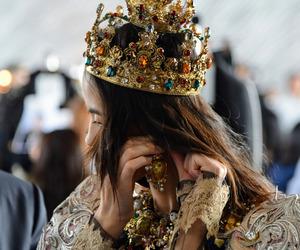 fashion, crown, and Dolce & Gabbana image