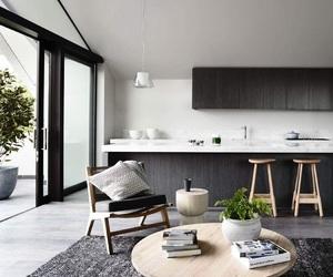 black & white, design, and home image