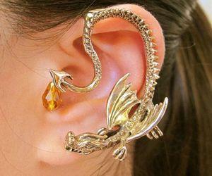 dragon, etsy, and fashion image