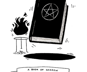 illustration, witch, and wicca image