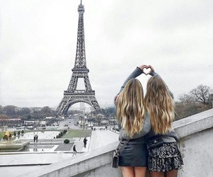 paris, best friends, and bff image
