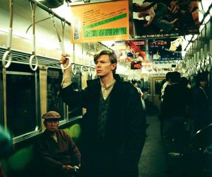 david bowie and subway image