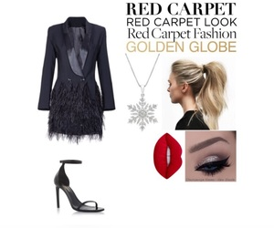 glam, outfit, and Polyvore image