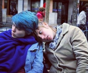 Adele, movie, and blue is the warmest color image