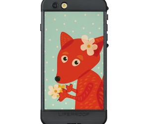 animal, foxes, and iphone image