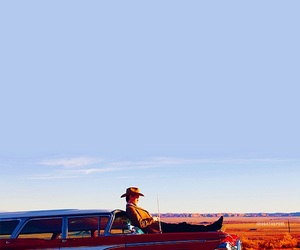 car, cowboy, and doctor image