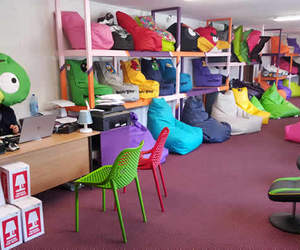 beanbags, giant bean bags, and large bean bag chairs image