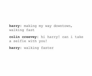 funny, harry potter, and colin creevey image