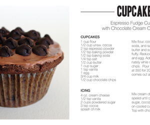 cupcake, food, and recipe image