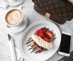 coffee, food, and outfit image