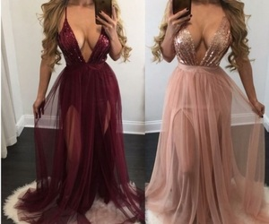 dress, Prom, and beautiful image