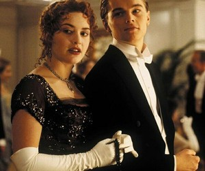 jack, rose, and titanic image
