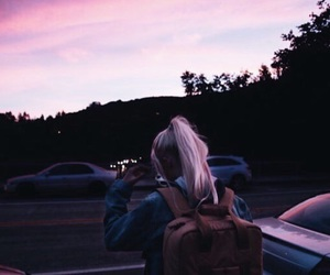 pink, travel, and tumblr image