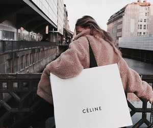 fashion, celine, and city image