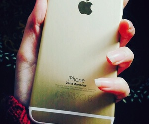 iphone, iphone_gold, and iphone6 image
