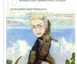 dinosaur, funny, and german image