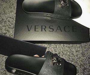 Versace, shoes, and fashion image