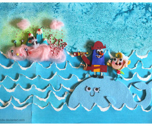 flapjack, bubbie, and candy island image