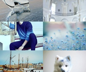 aesthetic, aph, and blue image