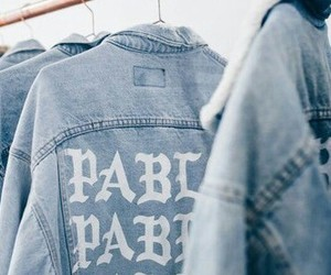 blue, pablo, and denim image
